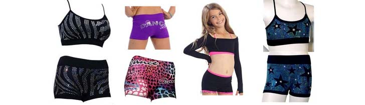Sequin Dance Shorts