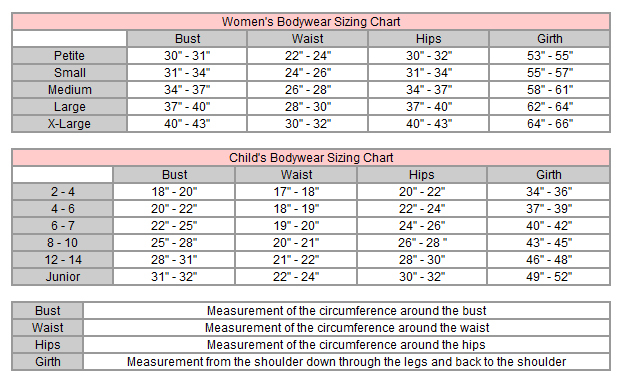 Size Chart; Fit Guide; How to Measure; Boys' and Girls' Sizing Information. Boys' X-Small Small Medium Large X-Large Girls' Medium; USA Sizes: Measurements refer to body size, not garment dimensions, and are in inches unless otherwise noted. OK.